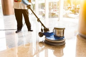 Commercial Floor Buffing